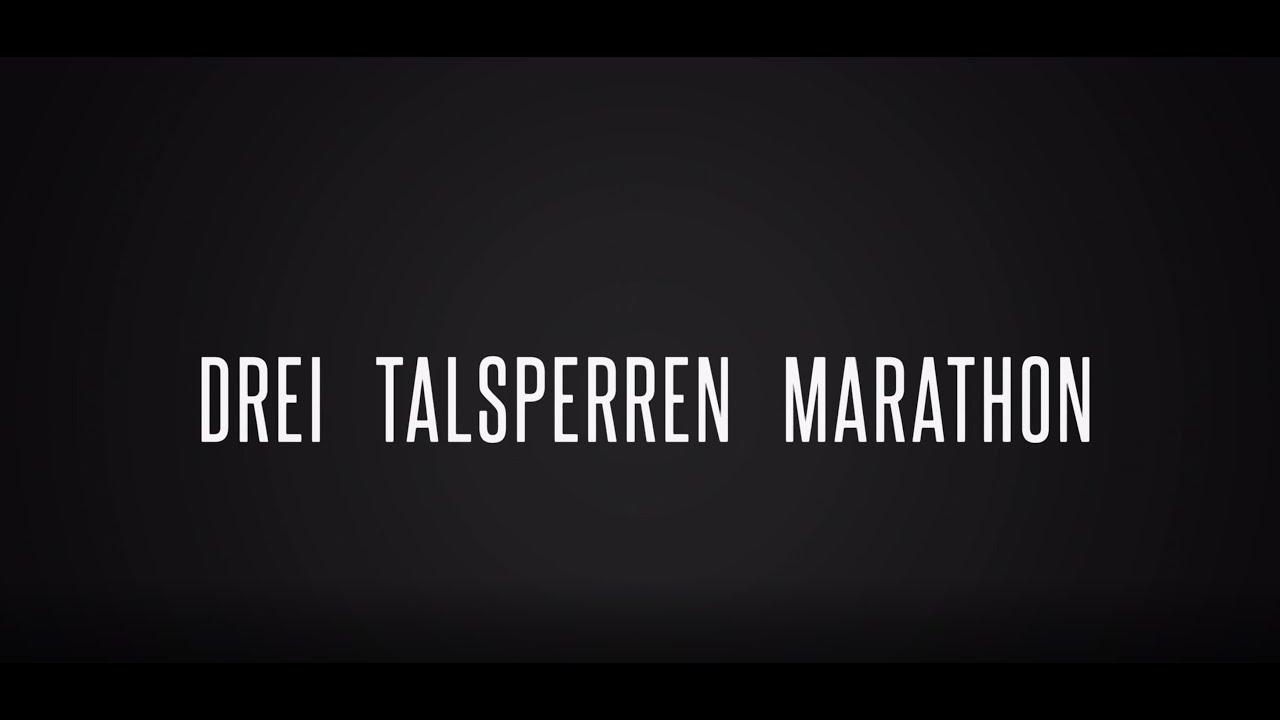 Drei Talsperren Marathon - Streckenvorstellung