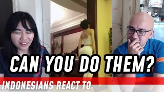 INDONESIANS REACT TO Top 10 HARDEST VIRAL CHALLENGES from CHINA