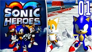 Sonic Heroes | Team Sonic: Episodio 01