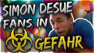 Simon Desue bringt seine Fans in Gefahr, verarscht und belügt sie