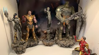 Iron Studios Avengers Endgame Black Order Proxima Midnight 110 Statue Unboxing and Review