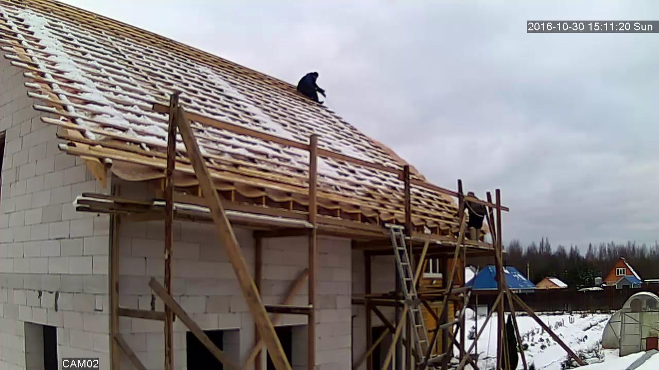 Как правильно покрыть крышу металлочерепицей своими руками фото фото 96