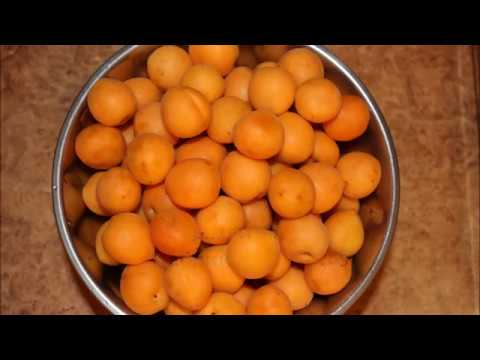 Компот из абрикосов на зиму. Простой, быстрый рецепт.