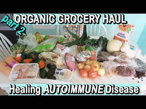 HEALTHY ORGANIC GROCERY HAUL | Healing Psoriasis & Leaky Gut