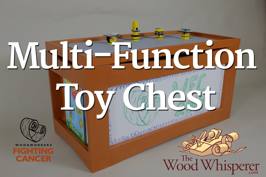 & 231 - Multi-Function Toy Chest - YouTube Aboutintivar.Com