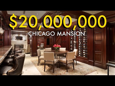 $20,000,000 Historic Chicago Mansion Tour