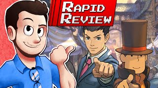Professor Layton VS Ace Attorney - Rapid Review