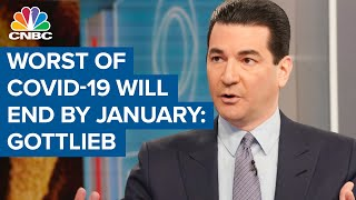 Covid-19 pandemic will be over by January one way or the other: Fmr. FDA chief