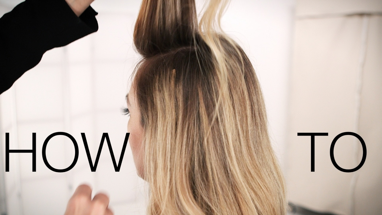 Clip In Hair Extensions How To Apply Youtube