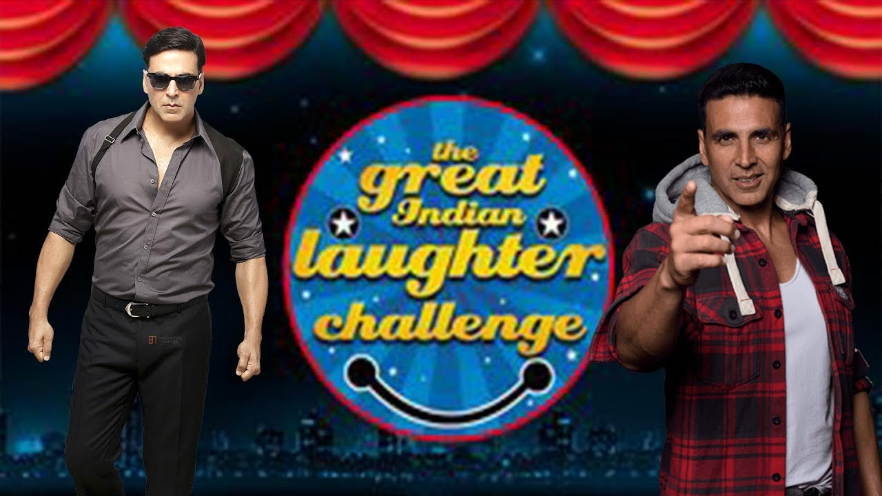 Akshay Kumar To Judge The Great Indian Laughter Challenge
