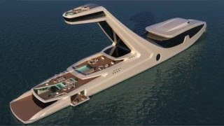 The NEW & INSANE 150m Concept, Oceanco's 'STILETTO' Wows The Crowd & much more