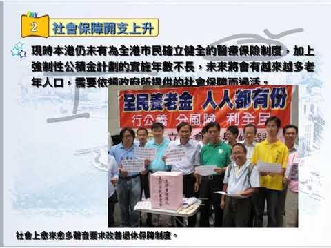 香港人口老化對政府收支的影響 - YouTube