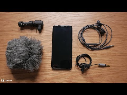 Better audio with Vlogging on a Phone ( Samsung Galaxy S8 ) Chung Dha