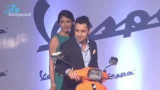 Imran Khan at Launch of New Vespa Scooter