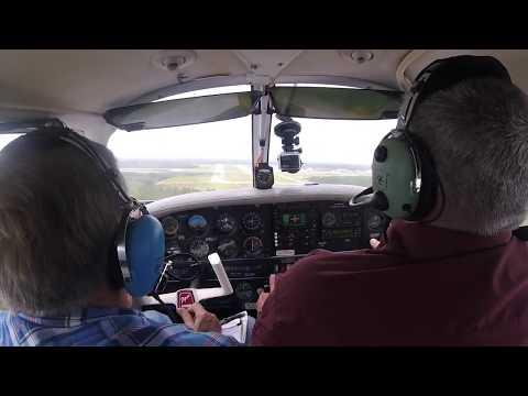 Flight into Cecil Field Jacksonville | PA28 Challenger | VFR