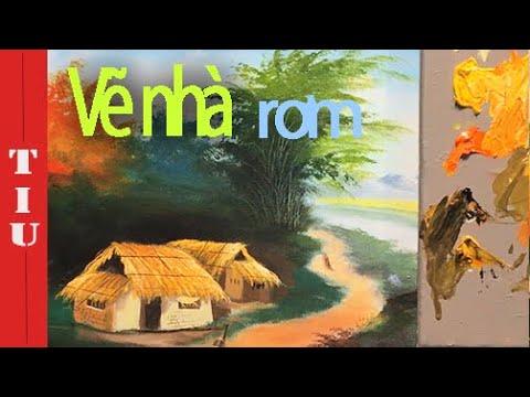 """Bài 9: Cách vẽ ngôi nhà rơm- Khóa học """"Vui cùng họa sĩ Corona"""""""