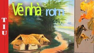 Bài 9: Cách vẽ ngôi nhà rơm- Khóa học vui cùng họa sĩ corona