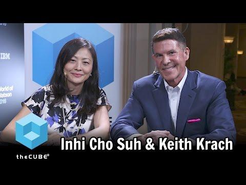 Inhi Cho Suh, IBM & Keith Krach, Docusign - World of Watson 2016 - #ibmwow - #theCUBE