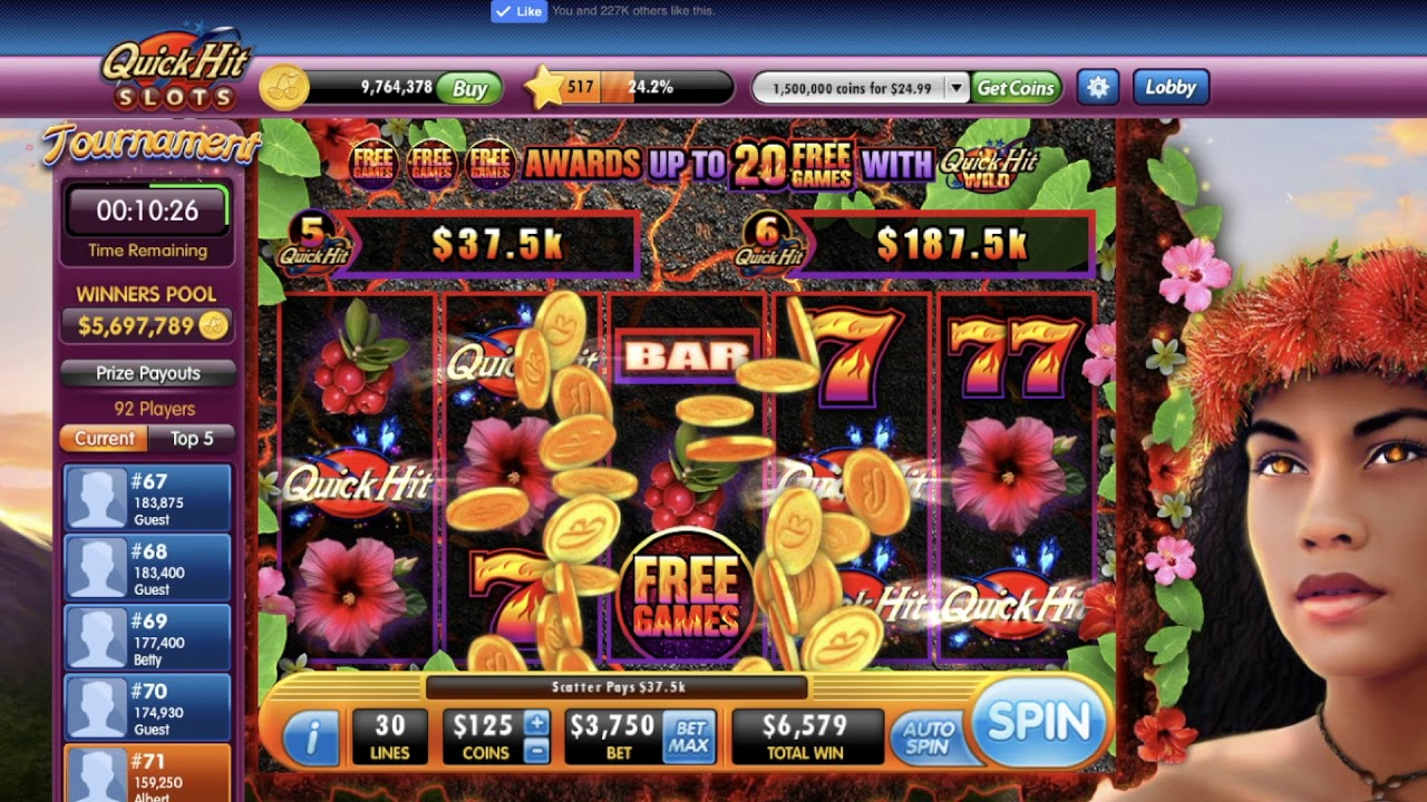 5 top slot machines at the Volcano Casino in 2017 18