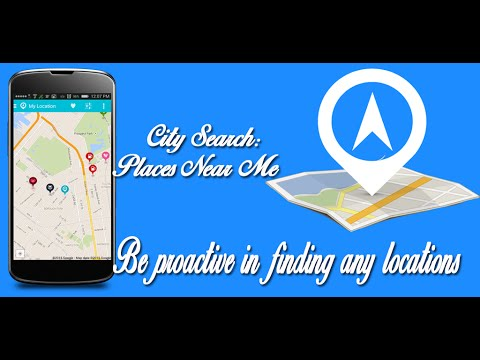 City Search Places Near Me App For Android Youtube