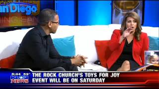 Rock Church - KUSI Toys for Joy w/ Pastor Miles
