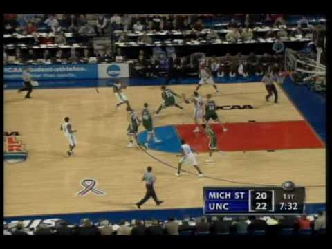 2005 Final Four UNC vs Michigan State