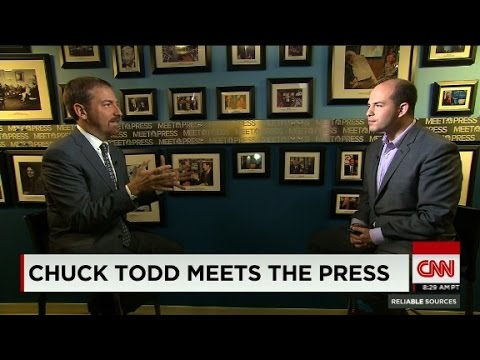 Chuck Todd meets the press