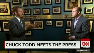Chuck Todd meets the press