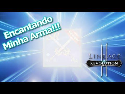 Lineage 2 Revolution: Encantando Arma!!! Sorte ou Azar? Omega Play
