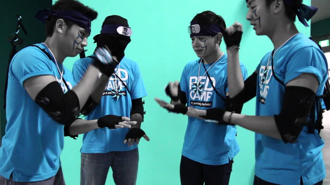 Ngee Ann Poly RED Camp 2013 Tribe Video - Ninjas