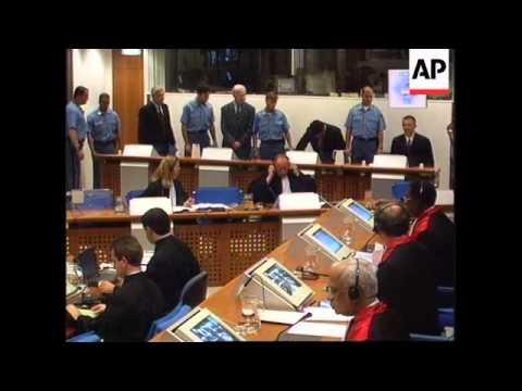 Holland - Bosnian Croats war crimes trial
