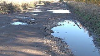 Сюжет ТСН24: В Киреевском районе люди не могут добиться ремонта дороги