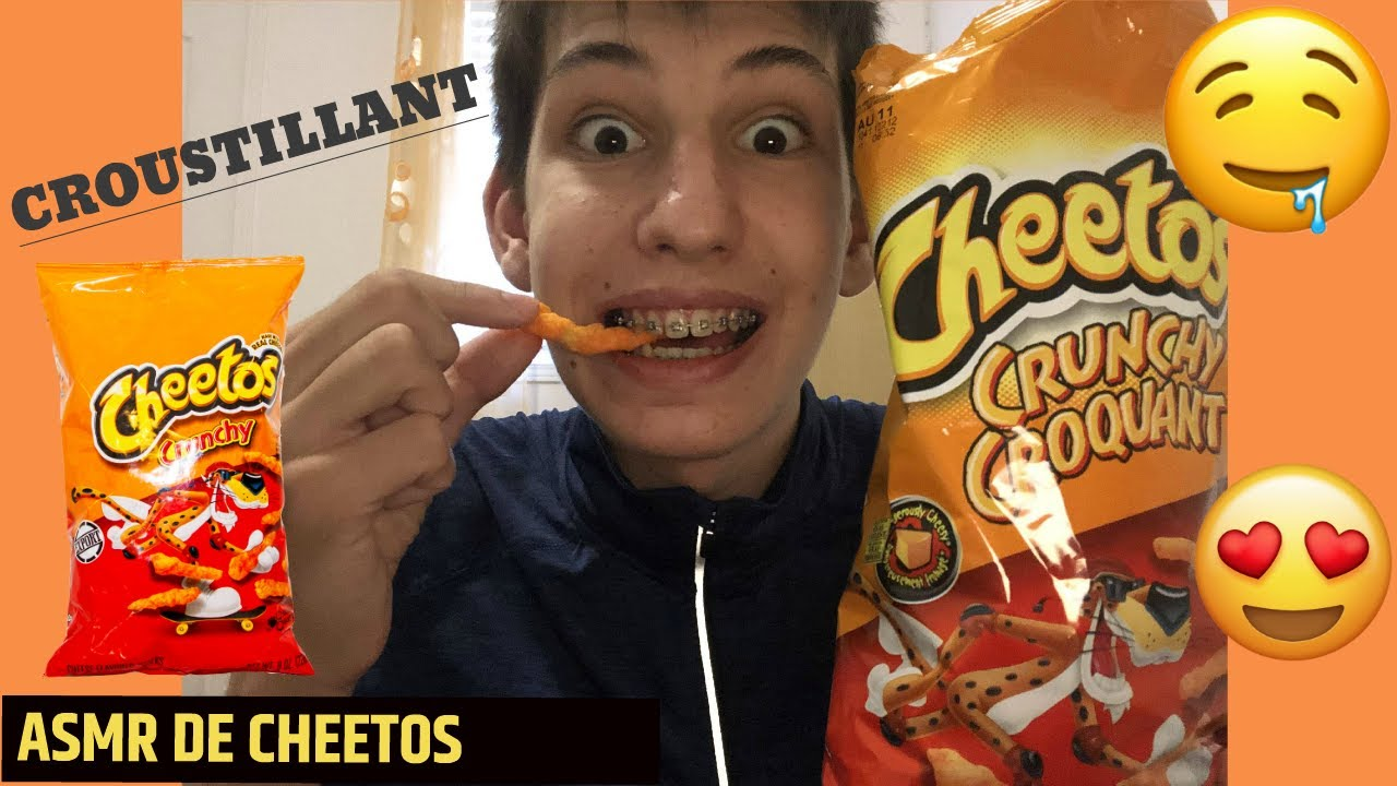 ASMR de CHEETOS croustillants