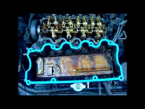 Howto Replace A Valve Cover Gasket On A Hyundai