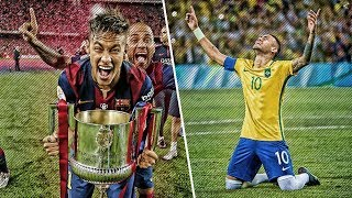5 Biggest Matches Ever Decided By Neymar Jr Alone  HD