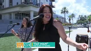 Kim Reteguiz & The Black Cat Bones Ch 4 River City Live appearance-FAT MAN