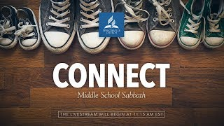 Full Service // Middle School Sabbath: Connect - Middle School Families - February 2, 2019
