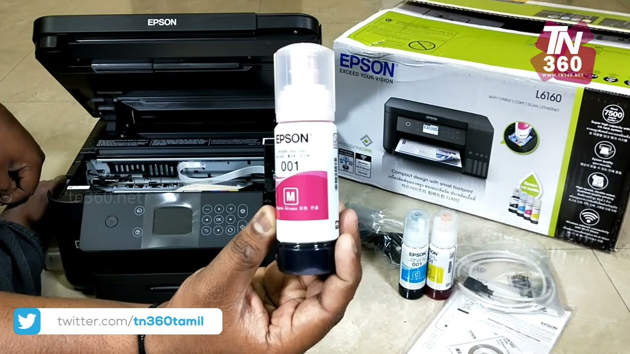 epson L6160 review & unboxing Tamil | Wi-Fi Duplex All-in-One Ink Tank  Printer | L6190 | L6170