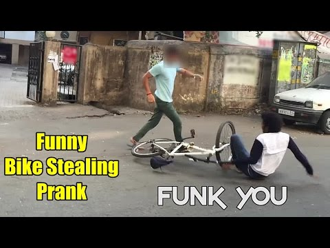 Epic Bike/Bicycle Stealing Prank by Funk You (Prank in India)