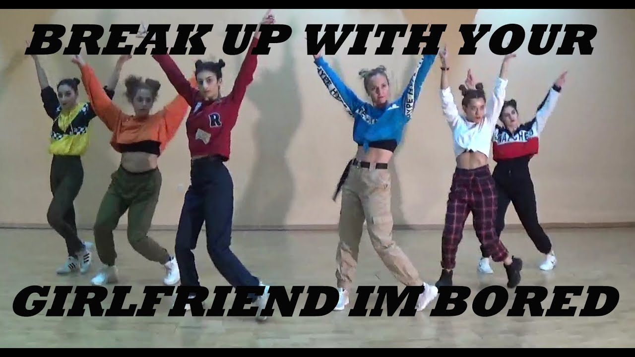 Break Up With Your Girlfriend Im Bored Ariana Grande Dance Video Easy Choreography By Ilana