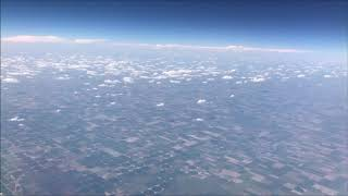 Airplane Time Lapse From Arizona to New York