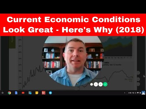 Current Economic Environment Looks Great - Here's Why (2018)