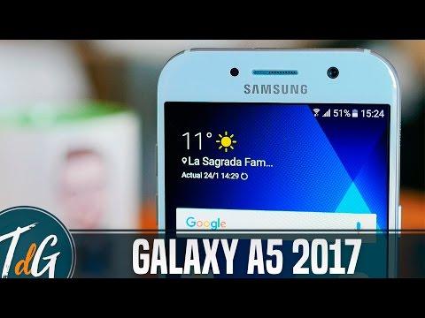 Samsung Galaxy A5 2017, Review en español