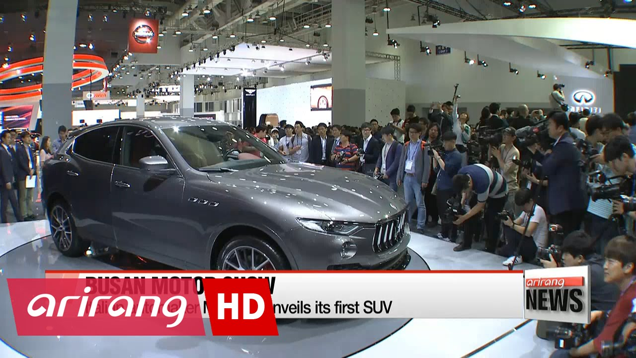 Eco Friendly Vehicles Suvs Dominate 2016 Busan Motor Show