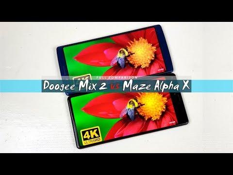 Maze Alpha X vs Doogee Mix 2 | Full Comparison