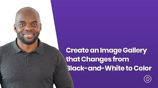 How to Create an Image Gallery that Changes from Black and White to Color with Divi's Gallery Module