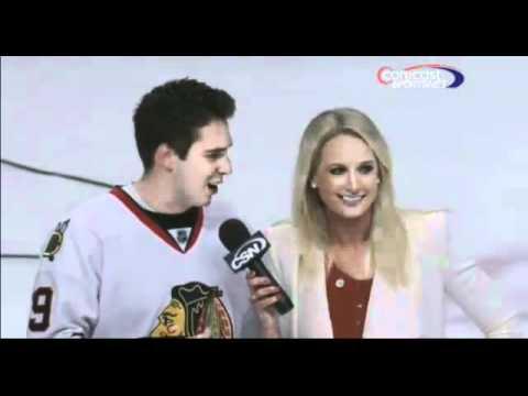 Fan Flirts With Reporter Live Awkward Moment (Original)