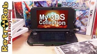 My Small But Fierce Nintendo 3ds Collecton
