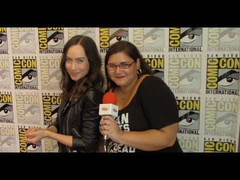 Courtney Ford  DC's Legends of Tomorrow  San Diego Comic Con 2018