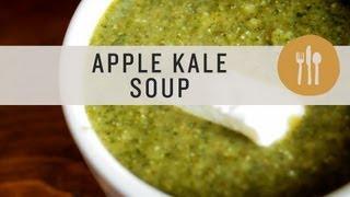 Apple Kale Soup - Superfoods
